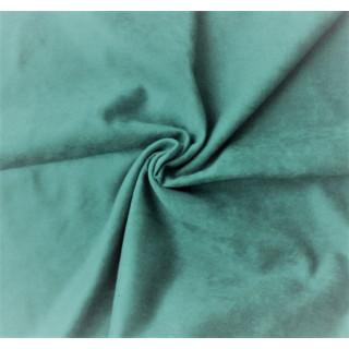 Микро-замша Soft-Touch односторонняя, Цвет - Пыльный Изумрудный 35х50 см.  не тянется