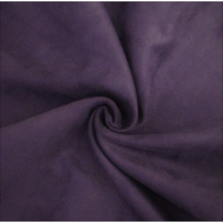 Микро-замша Soft-Touch односторонняя, Цвет - Темно-фиолетовый 35х50 см.  не тянется