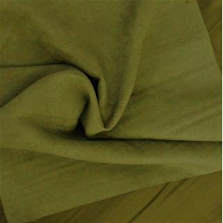 Микро-замша Soft-Touch односторонняя, Цвет - Травяной 35х50 см.  не тянется