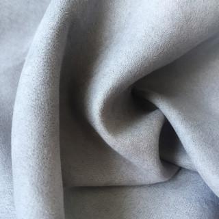 Микро-замша Soft-Touch односторонняя, Цвет - Серый 35х50 см. не тянется