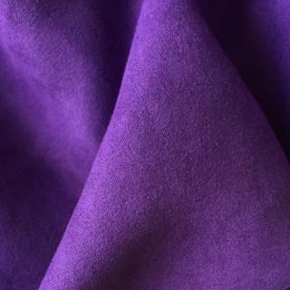 Супер Тонкая Ткань под замшу, Цвет - Фиолетовый  35х45 см