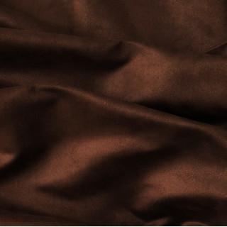 Односторонняя замша. Не тянется! Цвет - Горячий шоколад 35х50 см
