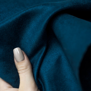 Односторонняя замша. Не тянется! Цвет - Королевский синий 35х50 см