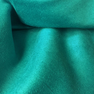 Тонкая ткань под замшу , Цвет - Бирюзовый 35х50 см