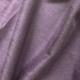 Односторонняя замша. Тянется в одну сторону! Цвет - Пыльно-фиолетовый35х50см