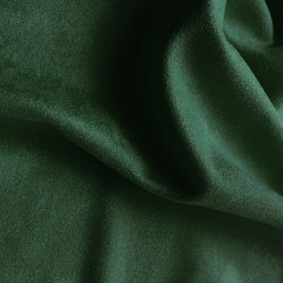 Односторонняя замша. Тянется в одну сторону! Цвет - Бриллиантовый Зеленый  35х50см