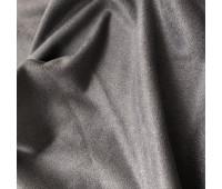 Односторонняя замша. Тянется в одну сторону! Цвет - Темный Серо-Фиолетовый  35х50см