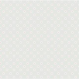 Цветочная сеточка белая  на сером 40х55см.