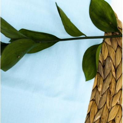 Ткань Хлопок, Цвет - Небесно-голубой 35 х 50см.