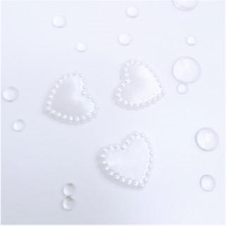 Набор перламутровых сердечек  из 3 шт